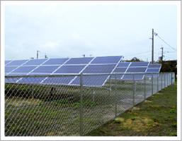 遊休地を活用した太陽光パネルの設置