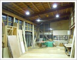 工場・倉庫のLED照明の施工