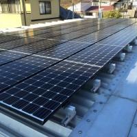 産業用太陽光パネルのイメージ画像