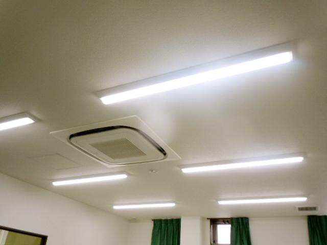 LED照明施工後