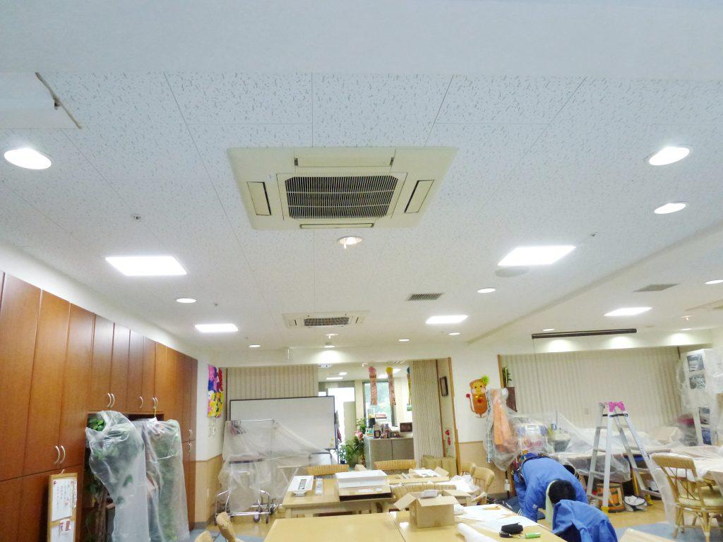LED照明設置後のイメージ